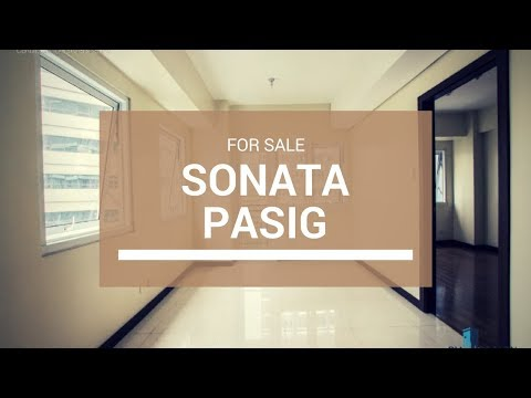 2 Bedroom Sonata Private Residences in Pasig for Sale ₱ 5,500,000
