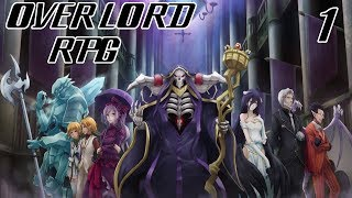 RISE OF A NEW DARK MAGE!    Overlord RPG Modpack Episode 1 (Minecraft Overlord Server)