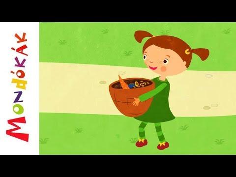 Sárgarépa, köménymag   Gyerekdalok és mondókák, rajzfilm gyerekeknek thumbnail