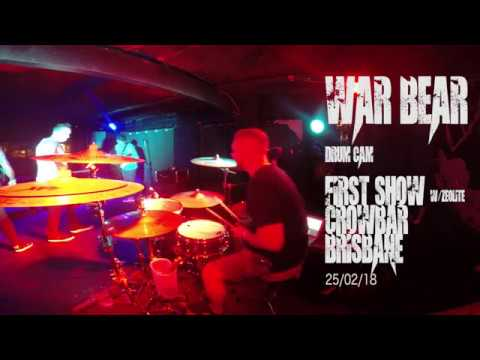 War Bear Drum Cam First Show Full Set