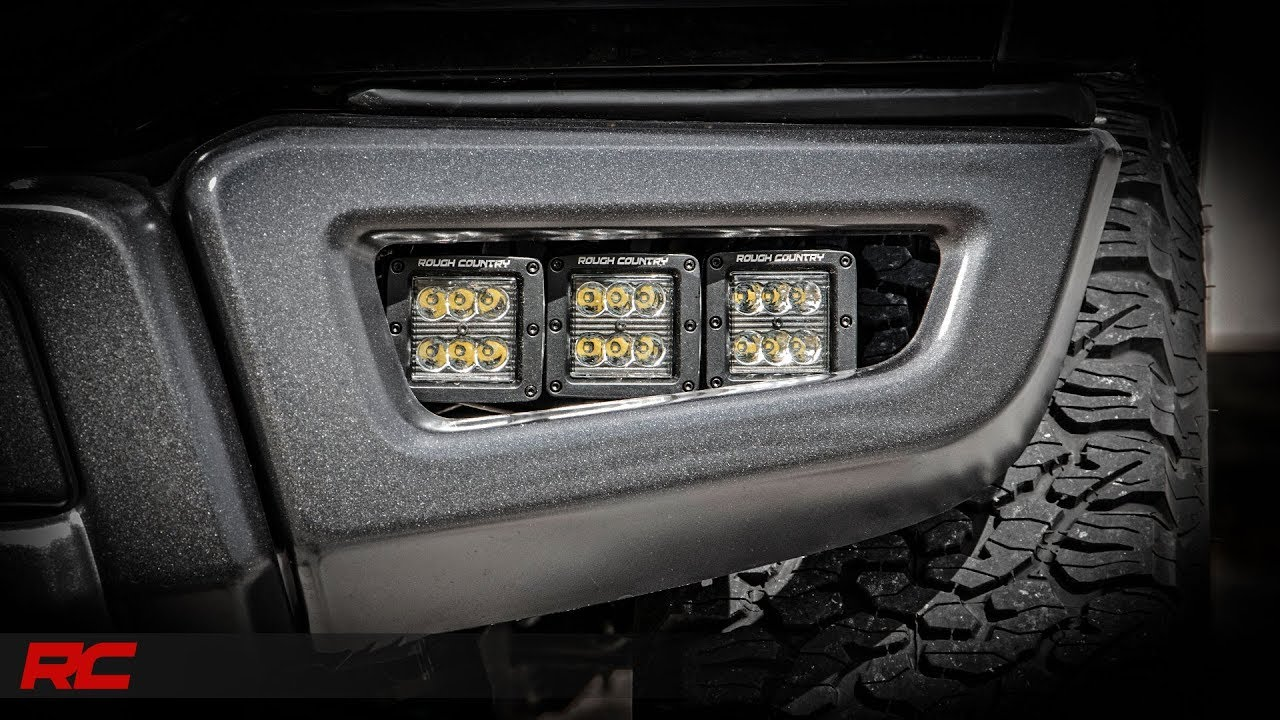 Ford F  Inch Led Fog Light Kit By Rough Country