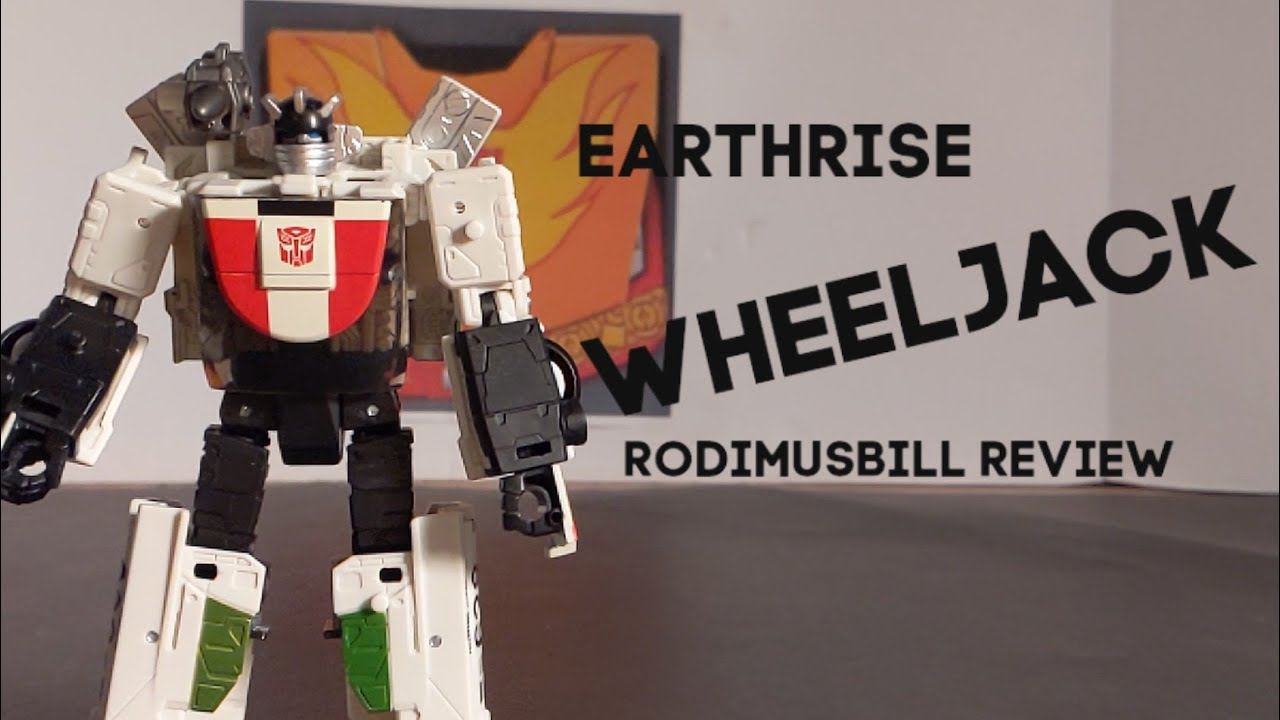 Transformers Earthrise WHEELJACK Deluxe Figure Review by Rodimusbill