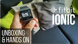 Fitbit Ionic Unboxing & Hands On [deutsch/english subtitle]