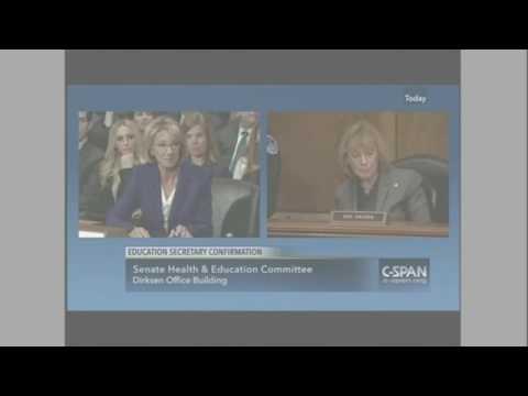 Education secretary nominee Betsy DeVos Lies to Senate