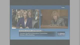 Education secretary nominee Betsy DeVos Lies to Senate