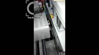 Машина для золочения обреза книг, игральных карт, ежедневников