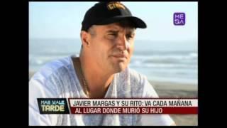 Javier Margas y el dolor de la muerte de su hijo