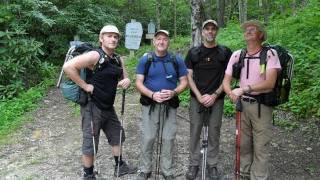 Devils Hole Trail, Linville Gorge with Hickery Brothers & Friends