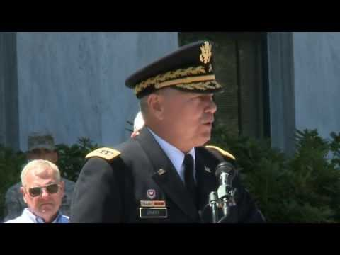 Chief of NGB speaks at MG Rees retirement ceremony