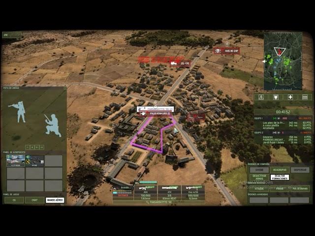 Casi cuelo un tanque al spawn  | 3vs3 | Wargame Red Dragon | #41