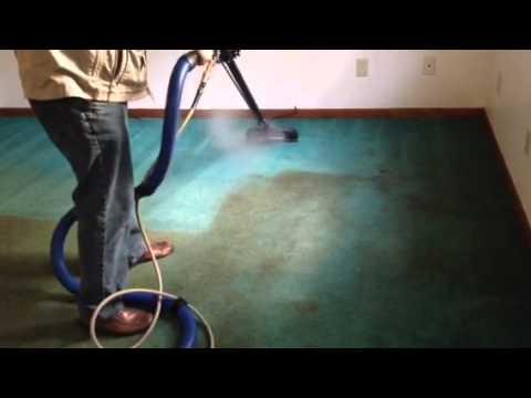 Trashed out carpet
