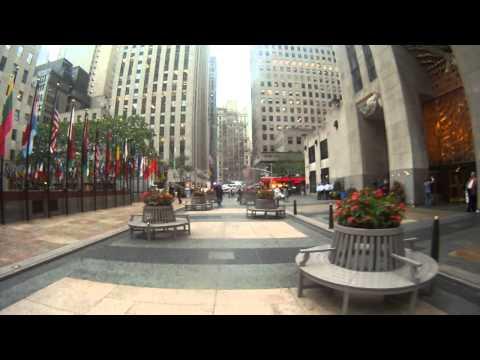 My Morning Walk in Manhattan