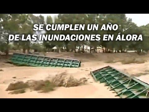 Un año de las inundaciones en Álora - Andalucía Directo (Canal Sur TV)