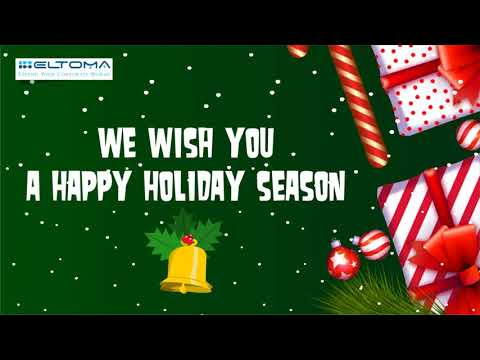 HAPPY HOLIDAYS! FROM ELTOMA!  2018
