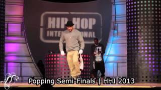Jan vs Boogie Frantick | Semi Finals | Popping | World Battles HHI 2013 | Step x Step