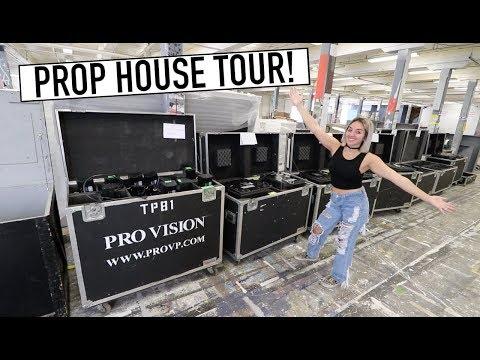 PROP WAREHOUSE TOUR - Most Unique Estate Sale Ever!!!