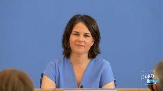 Annalena Baerbock & Irene Mihalic (Grüne): Lehren aus der Hochwasserkatastrophe   BPK 26. Juli 2021