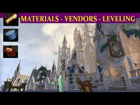 ESO Jewelry Crafting (See UPDATED Notes Below) Fast Level Tips & Jewelry Vendor Locations (Guide)