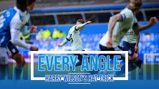 EVERY ANGLE | HARRY WILSON'S FIRST PROFESSIONAL HAT-TRICK vs BIRMINGHAM