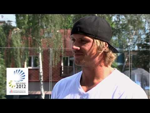 Helsinki 2012 European Athletics Championships preview - Andreas Thorkildsen