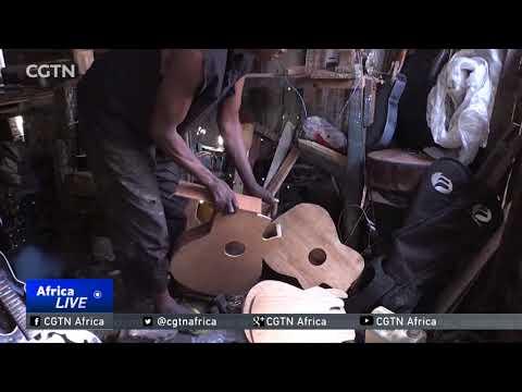 The Guitar Maker of Kinshasa