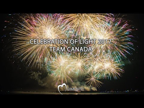 Team Canada: Celebration of Light 2017 + Airshow [4K]
