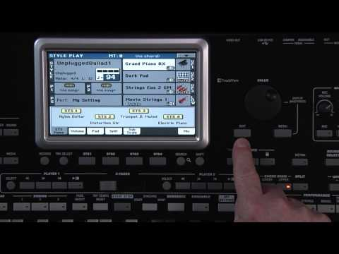 KORG Pa3X LE Video Manual - Part 1: Introduction and Navigation