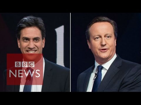 Miliband & Cameron: Leaders questioned - in 90 seconds - BBC News