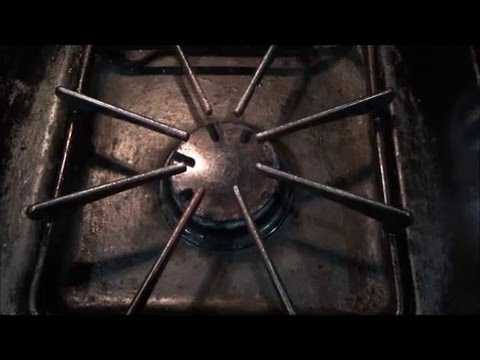 How to clean Stove Top easily