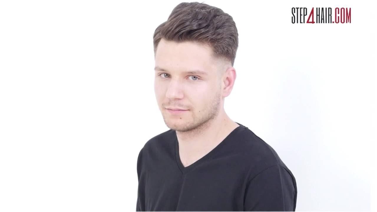 Step4haircom Strzyżenie Męskie Z Niskim Cieniowaniem Youtube