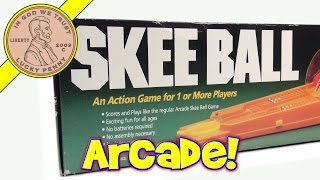 Skee Ball Arcade Game, 1981 Cadaco
