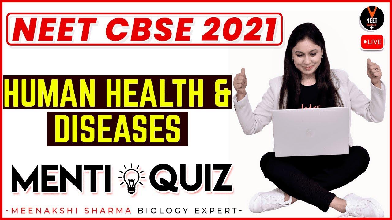 Human Health and Diseases Class 12 | NEET Questions | NEET 2021 Preparation | NEET Biology
