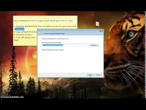 How to Fix adobepdf.dll Error Download adobepdf.dll