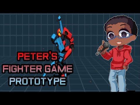 D-Money107 Plays: Peter's Fighter Game Prototype