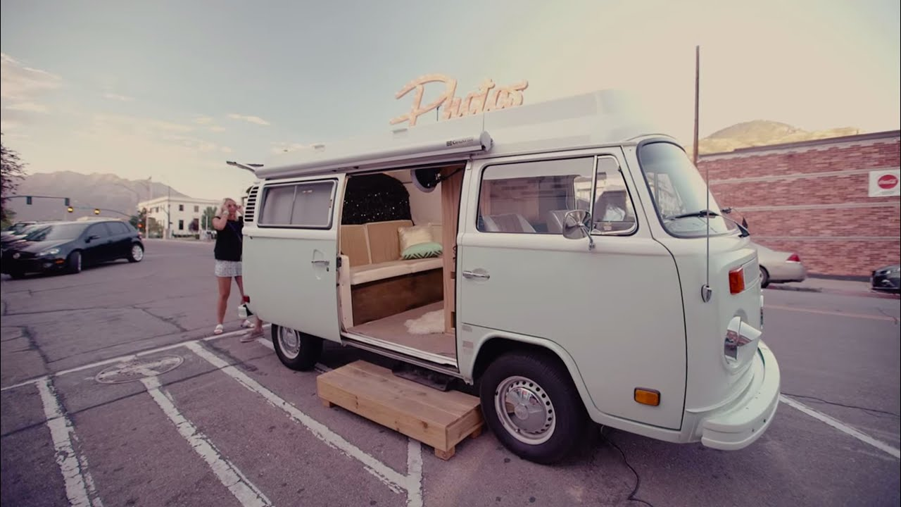 Photo Booth Bus | Photo Booth Rental Inside VW Bus