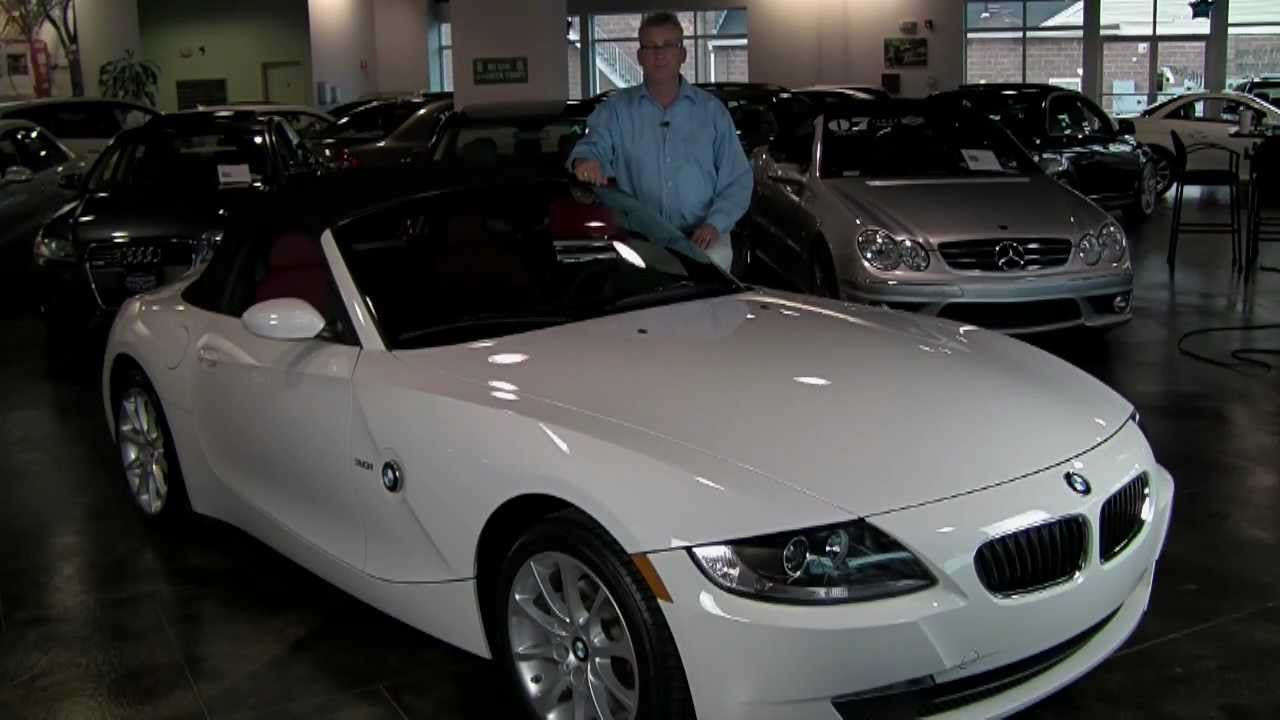 2008 bmw z4 3.0i roadster - premium package, paddle shifters