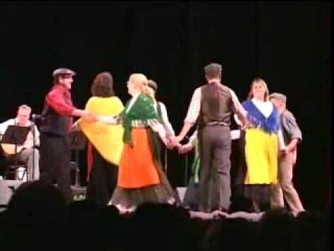 LOS ANGELES IRISH SET DANCERS On Stage