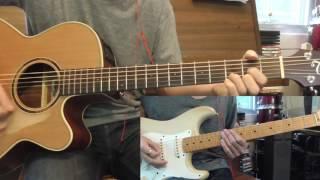 แล้วแต่ใจเธอ - NUM KALA - Chord (คอร์ด) & Solo - Guitar Cover By ริช