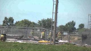 Scrap fire at Blueknight Energy Partners