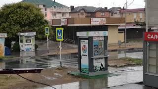 Анапа - Витязево - ДОЖДЬ. Пока без моря. 5.44 утра 19.07.2018