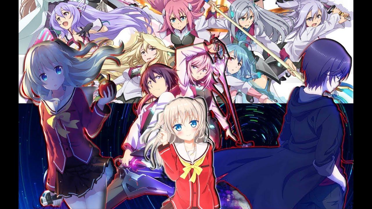 Charlotte Y Gakusen Toshi Asterisk  Animes Que Quedaran -7738