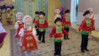Детский танец с элементами народной хореографии