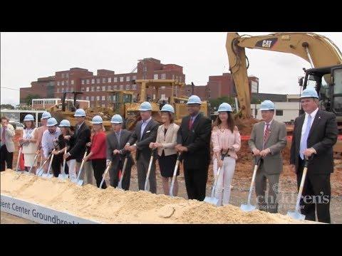 Groundbreaking for the new Children's Hospital at Erlanger