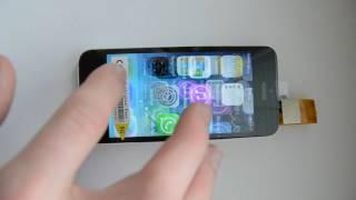 Testovaní LCD displeje iPhone
