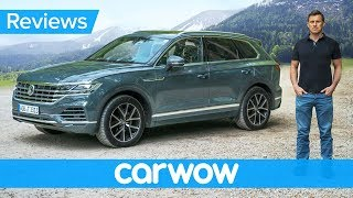 New Volkswagen Touareg SUV 2019 review - better than an Audi Q7 and Bentley Bentayga!