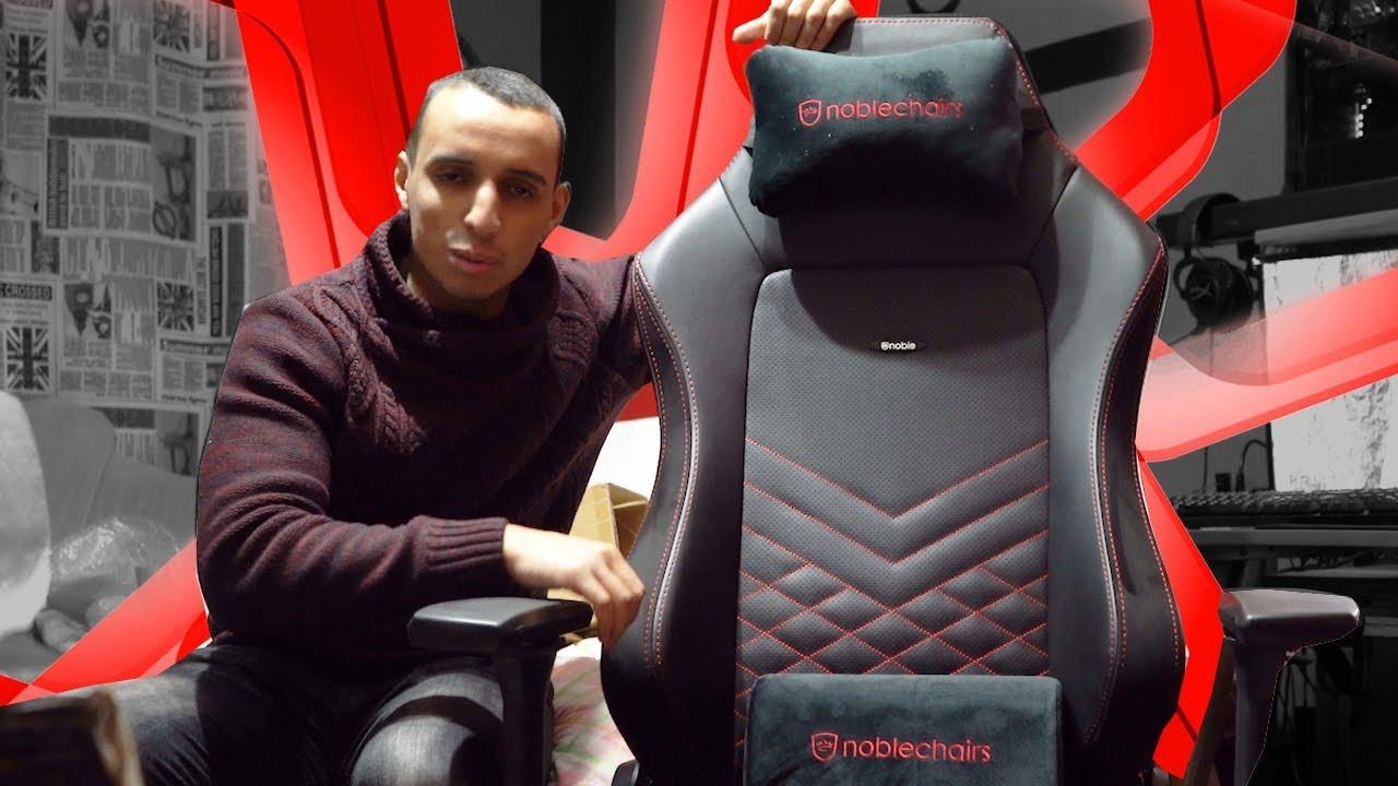 Noble Chair Hero Review & Unboxing لن تصدق الكرسي الخردة الذي ثم تبديله