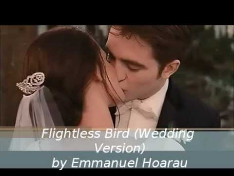 Emmanuel  Flightless Bird Piano wedding version