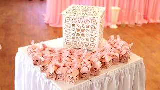 Украшение свадебного зала от Евдокии Бышко