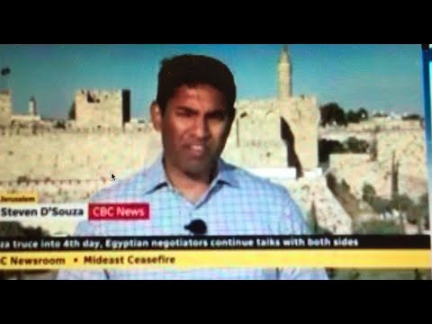 """CBC Reporter's Unfounded Claim: 50 Jewish """"SETTLERS"""" Visited Al Aqsa Mosque Compound"""