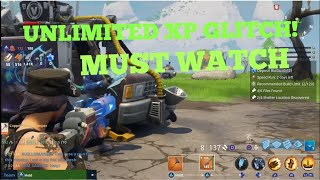 CRAZY UNLIMITED XP GLITCH! (Fortnite Save The World) 'MUST WATCH'